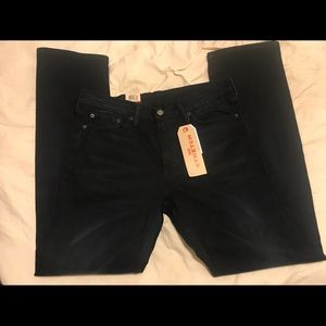 Men's dark blue Levi's